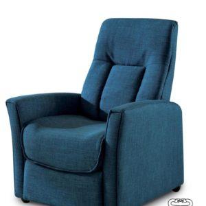 poltrona Alessandra colore blu