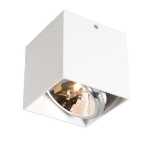 Lampada da soffitto - Square Box - Bianco
