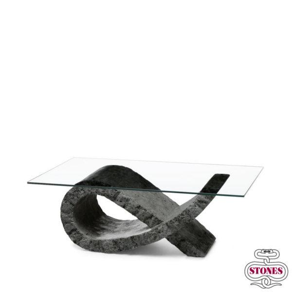 tavolini da salotto nome: fiocco salotto piano in vetro