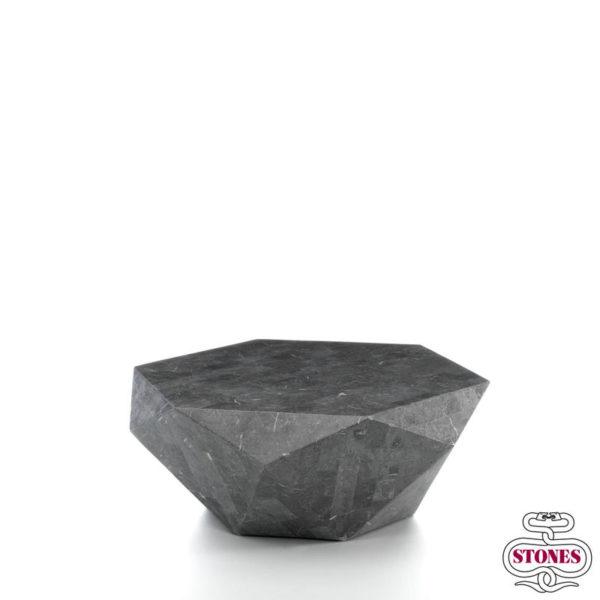 Nome Tavolino: diamante dimensione: grande colore: grigio