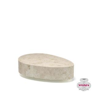 nome tavolino: oval colore: bianco