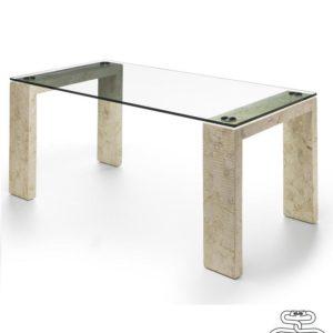 Tavoli fissi millerighe 2 pranzo piano in vetro