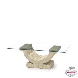 tavoli da salotto nome: omega salotto piano in vetri