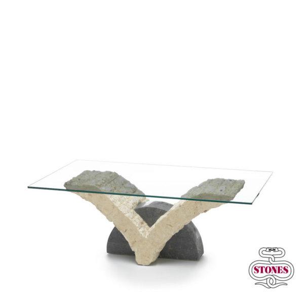 tavolino da salotto nome: papillon salotto piano in vetro