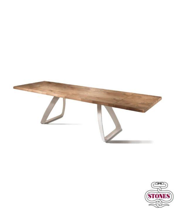 tavolo allungabile nome: grande bridge piani in legno