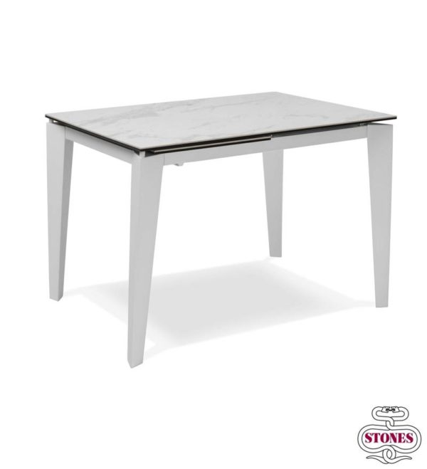 tavolo allungabile nome ceramica 2 piano in marmo