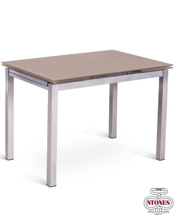 tavolo allungabile nome: baud colore: marrone