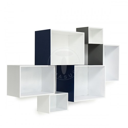 set 6 cubi da parete MOSAIKO